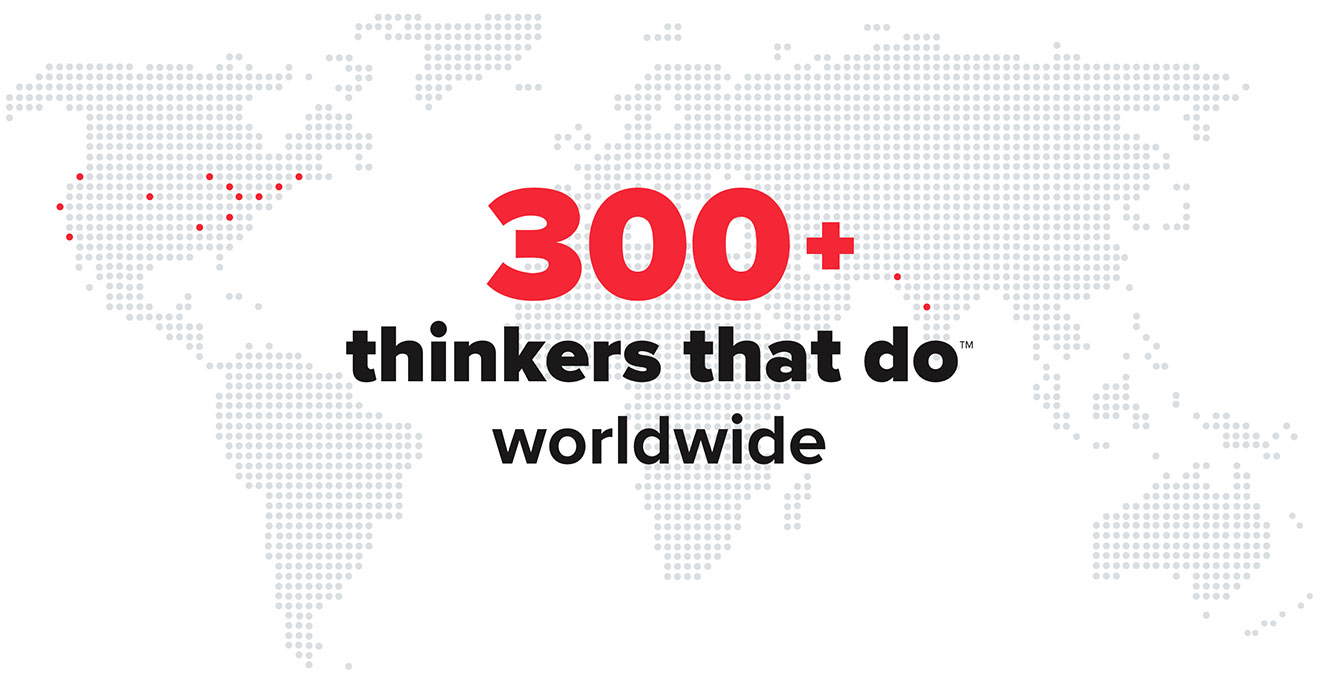 300+ Thinkers Worldwide